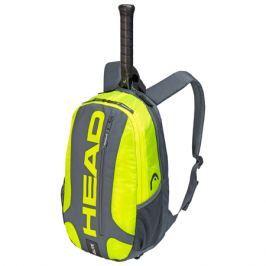 Batoh na rakety Head Elite Backpack Grey/Yellow 2019