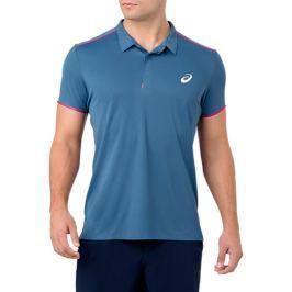 Pánské tričko Asics Gel Cool Performance Polo Azure