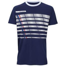 Pánské tričko Tecnifibre F2 Airmesh 360 Blue/White