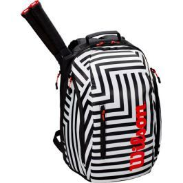 Batoh na rakety Wilson Super Tour Backpack Bold Black/White