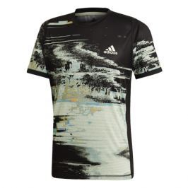 Pánské tričko adidas NY Printed Black