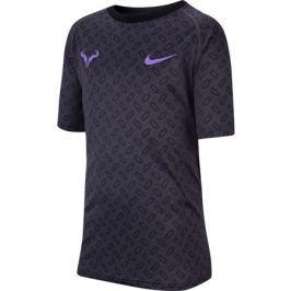 Dětské tričko Nike Dry Tee Leg Rag Rafa GFX Anthracite