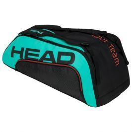 Taška na rakety Head Tour Team 6R Combi Black/Teal