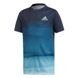 Dětské tričko adidas Boys Parley Printed Tee Navy