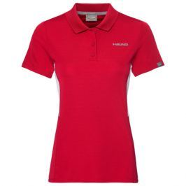 Dívčí tričko Head Club Tech Polo Red