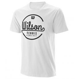 Pánské tričko Wilson Lineage Tech White/Black