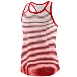Dívčí tílko Wilson Team Striped Red/White