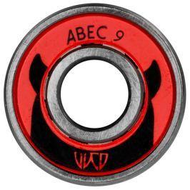 Ložiska Powerslide ABEC 9 Freespin Triskate sada 12 ks