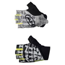 Cyklistické rukavice Northwave New Skeleton černo-žluté