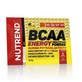 Nutrend Bcaa Energy Mega Strong Powder 20 x 12,5 g