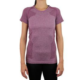 Dámské tričko Endurance Vanilla Melange Seamless Tee SS Purple Potion