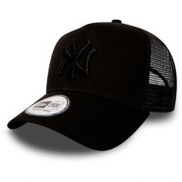Kšiltovka New Era Clean Trucker  MLB New York Yankees Black/Black