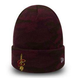 Zimní čepice New Era Essential Camo Knit NBA Cleveland Cavaliers