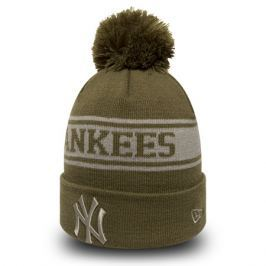 Zimní čepice New Era Seasonal Jake MLB New York Yankees Olive/Gray