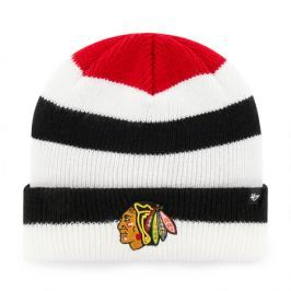 Zimní čepice 47 Brand Shortside Cuff Knit NHL Chicago Blackhawks