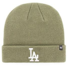 Zimní čepice 47 Brand Raised Cuff Knit MLB Los Angeles Dodgers Moss