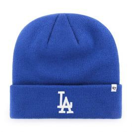 Zimní čepice 47 Brand Raised Cuff Knit MLB Los Angeles Dodgers Royal Blue