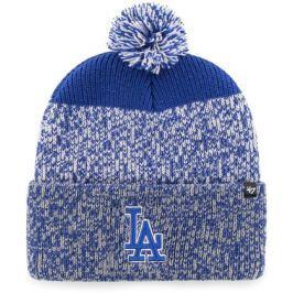 Zimní čepice 47 Brand Static Cuff Knit MLB Los Angeles Dodgers