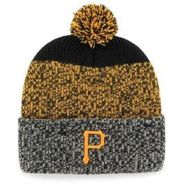 Zimní čepice 47 Brand Static Cuff Knit MLB Pittsburgh Pirates