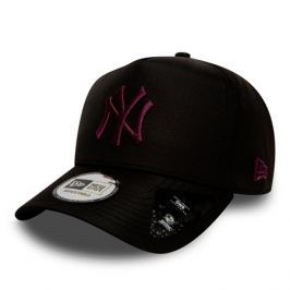 Kšiltovka New Era 9Forty A-Frame Ripstop MLB New York Yankees Black/Maroon