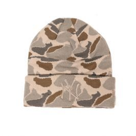 Zimní čepice New Era Camo Cuff Knit MLB New York Yankees