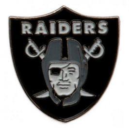 Kovový odznak NFL Oakland Raiders