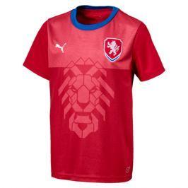 Dětské tričko Puma reprezentace Česká republika domácí