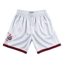 Šortky Mitchell & Ness Platinum Swingman Shorts NBA Philadelphia 76ers Allen Iverson 3