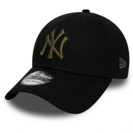 Kšiltovka New Era 39Thirty League Essential MLB New York Yankees Black/New Olive