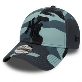 Kšiltovka New Era 9Forty Essential MLB New York Yankees Sky Camo