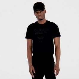 Pánské tričko New Era NBA Chicago Bulls Black