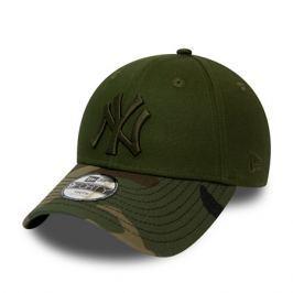 Dětská kšiltovka New Era 9Forty Camo MLB New York Yankees Olive