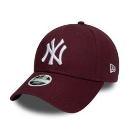 Dámská kšiltovka New Era 9Forty League Essential MLB New York Yankees Maroon/White