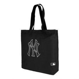 Taška New Era Canvas Tote MLB New York Yankees Black/White