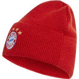 Zimní čepice adidas Woolie FC Bayern Mnichov červená
