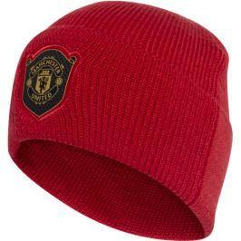 Zimní čepice adidas Woolie Manchester United FC červená