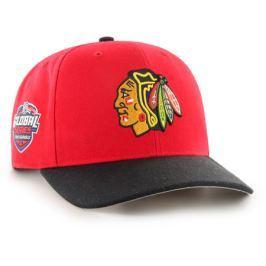 Kšiltovka 47 Brand MVP NHL Chicago Blackhawks červená GS19