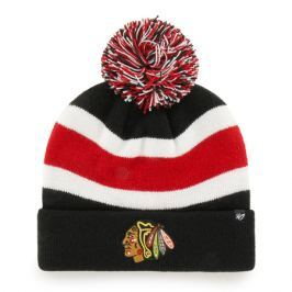 Zimní čepice 47 Brand Breakaway Cuff Knit NHL Chicago Blackhawks GS19
