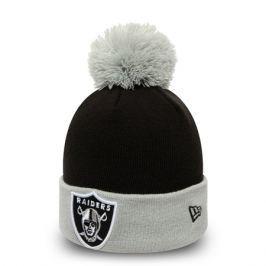Zimní čepice New Era Pop Team Knit NFL Oakland Raiders