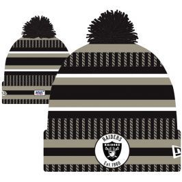 Zimní čepice New Era Onfield Cold Weather Home NFL Oakland Raiders