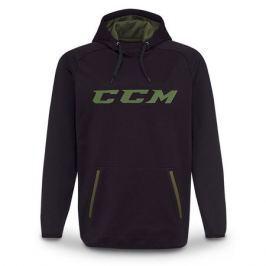 Mikina CCM Grit Fleece Tech Hood SR