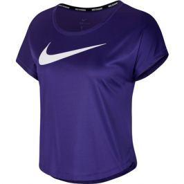 Dámské tričko Nike Swoosh Run Top SS fialové