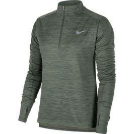 Dámská mikina Nike pacer Top HZ zelená