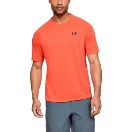 Pánské tričko Under Armour Tech 2.0 SS Tee Novelty oranžové