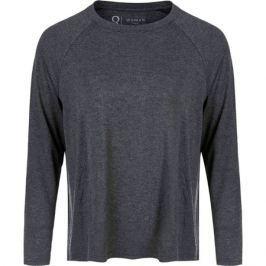 Dámské tričko Endurance Q Cihera Melange LS Tee černé