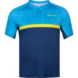 Pánské tričko Babolat Compete Polo Blue