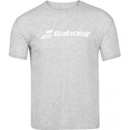 Pánské tričko Babolat Exercise Tee Grey