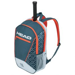 Batoh na rakety Head Core Backpack Grey/Orange 2020