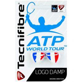 Vibrastop Tecnifibre ATP Logo Damp Tricolore