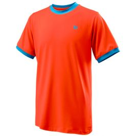 Dětské tričko Wilson Competition Crew B Orange